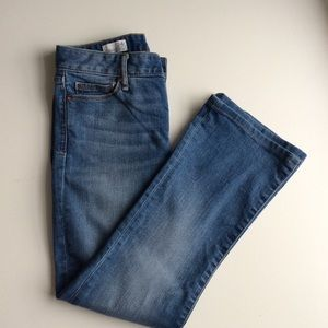 Gap 1969 bootcut distressed jeans. Size 24R